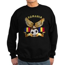 Romania Football Design Sweatshirt