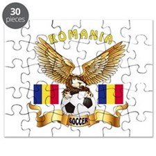 Romania Football Design Puzzle
