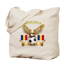 Romania Football Design Tote Bag