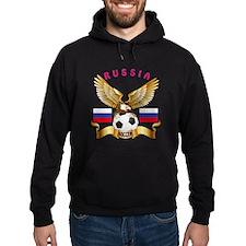 Russia Football Design Hoodie