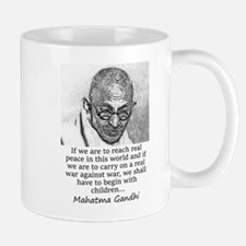 If We Are To Reach Real Peace - Mahatma Gandhi Mug