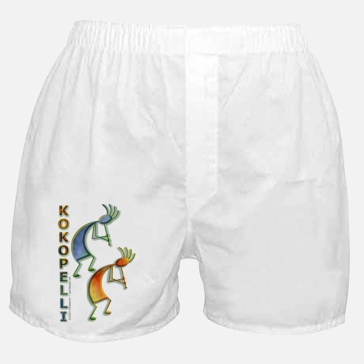 Colorful Kokopelli Boxers