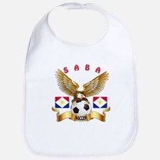 Saba Football Design Bib