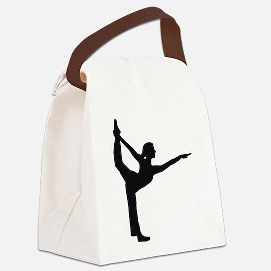 Bikram Yoga Canvas Lunch Bag