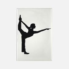 Bikram Yoga Rectangle Magnet