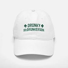Drunky McDrunkerson Baseball Baseball Cap