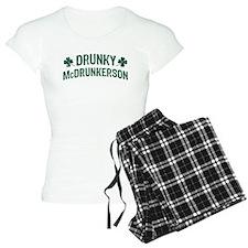 Drunky McDrunkerson Pajamas