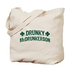 Drunky McDrunkerson Tote Bag