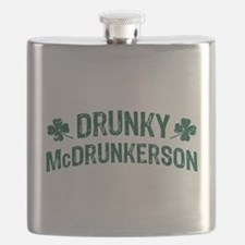 Drunky McDrunkerson Flask