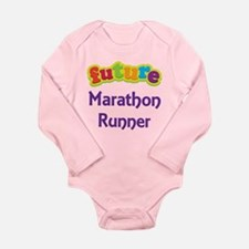 Future Marathon Runner Long Sleeve Infant Bodysuit
