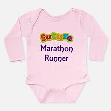 Future Marathon Runner Onesie Romper Suit