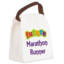 Future Marathon Runner Canvas Lunch Bag