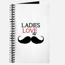 Ladies love the stache Journal