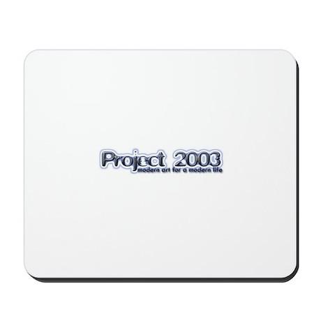 Project 2003 Mousemat