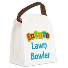 Future Lawn Bowler Canvas Lunch Bag