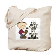 Daddys a Soldier Tote Bag