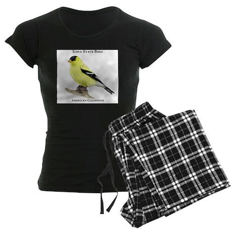 Iowa State Bird Women's Dark Pajamas