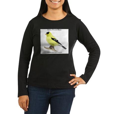 Iowa State Bird Women's Long Sleeve Dark T-Shirt