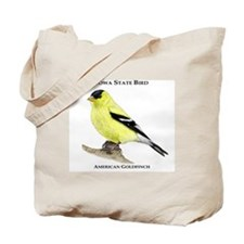 Iowa State Bird Tote Bag