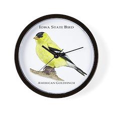 Iowa State Bird Wall Clock