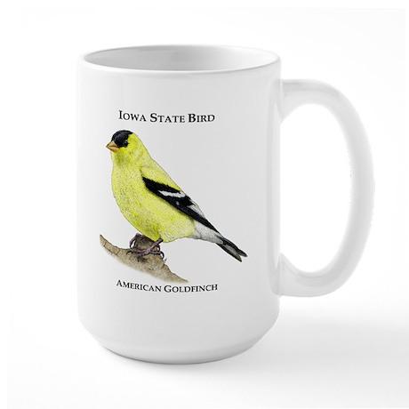Iowa State Bird Large Mug