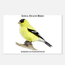 Iowa State Bird Postcards (Package of 8)