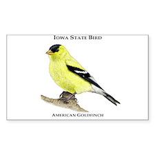Iowa State Bird Decal