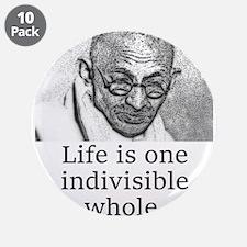 Life Is One Indivisible Whole - Mahatma Gandhi 3.5