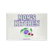 Mom's Kitchen Rectangle Magnet