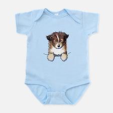 Pocket Sheltie Infant Bodysuit