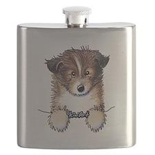 Pocket Sheltie Flask