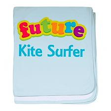 Future Kite Surfer baby blanket