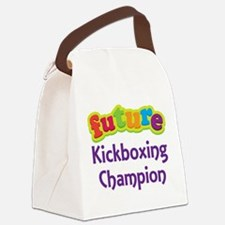 Future Kickboxing Champion Canvas Lunch Bag