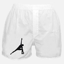 Bikram Yoga Triangle Pose Boxer Shorts