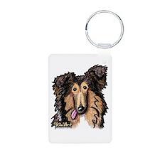 Shetland Sheepdog Keychains