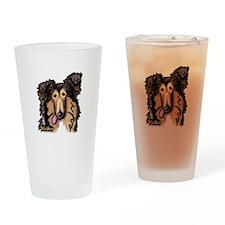Shetland Sheepdog Drinking Glass