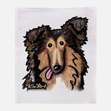 Shetland Sheepdog Throw Blanket