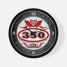 350 Chevy Wall Clock