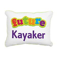 Future Kayaker Rectangular Canvas Pillow