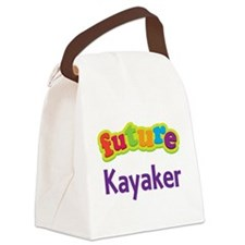 Future Kayaker Canvas Lunch Bag