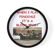 pinochle Wall Clock