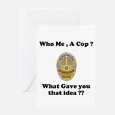 LAPD ? Greeting Card