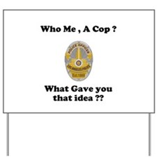 LAPD ? Yard Sign