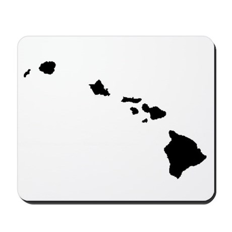 Hawaiian Islands Mousepad