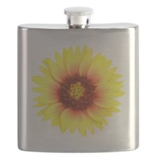 Yellow Daisy Flask