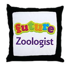 Future Zoologist Throw Pillow