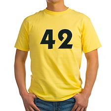42 (Blue) T