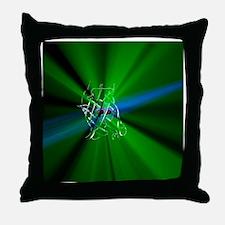Green fluorescent protein - Throw Pillow