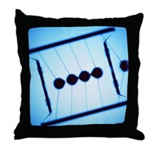 Newton's cradle - Throw Pillow