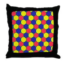 Uniform tiling pattern - Throw Pillow